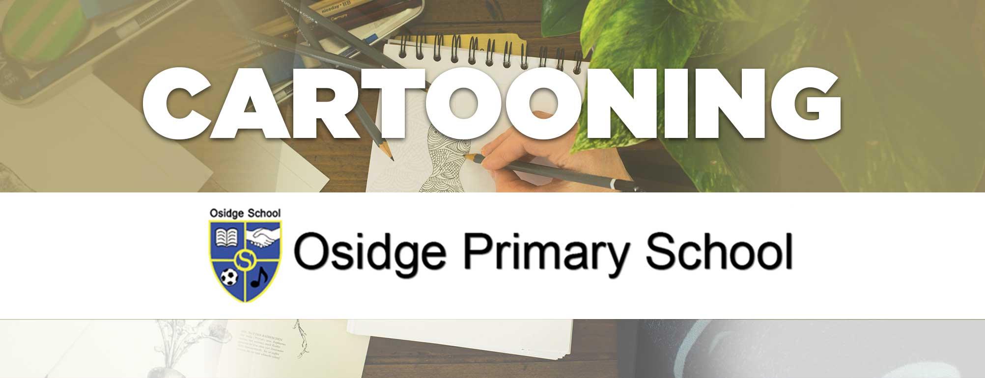 Cartooning Club - Osidge Primary School - September to December 2019